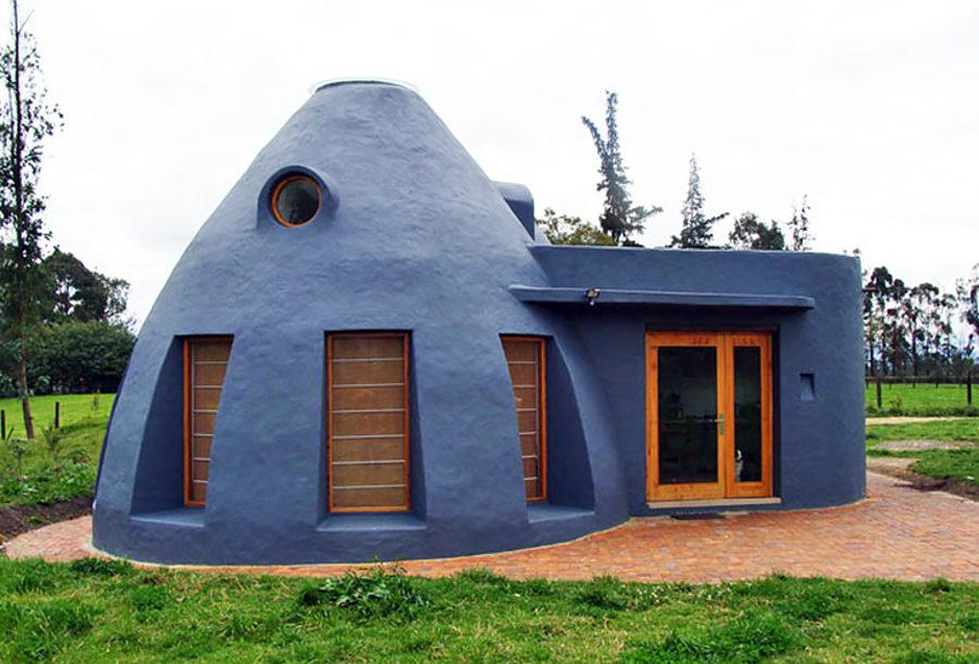 Kék kupolás ház