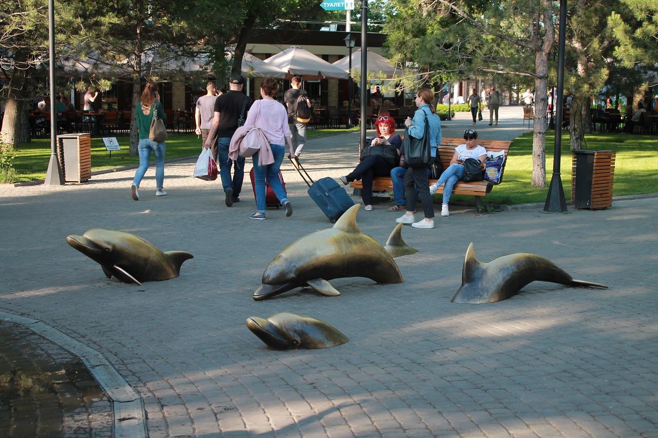 Szobrok Odesszában